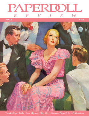2017--CAT PDs,ESTHER WILLIAMS,OUR GANG,etc Paperdoll Review Magazine Issue #67