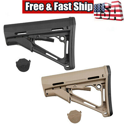 US CTR Collapsible Locking Stock Enhanced Upgrade w/ Pad & QD Mount 5.56 223 308