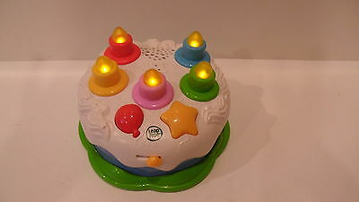 LEAPFROG Counting Candles Birthday Cake 19107 Music Sings Light 2009