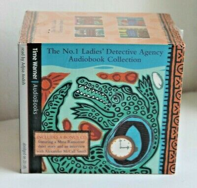 ALEXANDER McCALL SMITH * No. 1 Ladies Detective Agency * SEALED 20 CD AUDIO BOOK