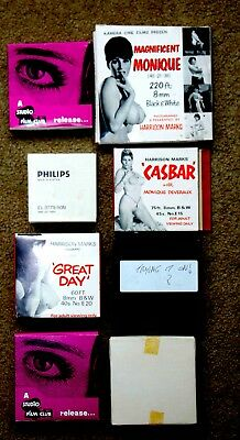 Rare Collection of Vintage 8mm Adult Films