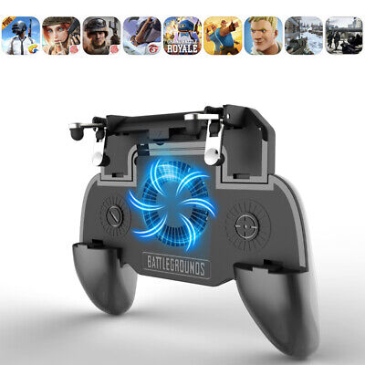 PUBG Controller Mobile Phone Game Joystick Cooling Fan Gamepad for Android IOS
