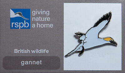 RSPB Pin Badge | gannet GNAH (00195)