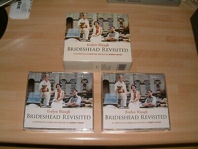 Brideshead Revisited Unabridged Read By Jeremy Irons .evelyn Waugh Cd Audio Book