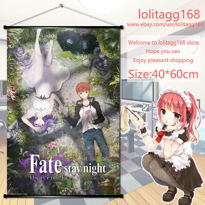 Fate stay night Heaven/'s Feel  Anime Movie Wall Scroll Poster Home Decor 60*90cm