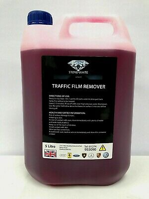 TFR 5L Heavy Duty Traffic Film Remover Concentrated Engine Degreaser Truck Wash