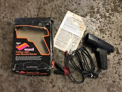 Hawk Command car engine timing light with remote starter, box & instructions