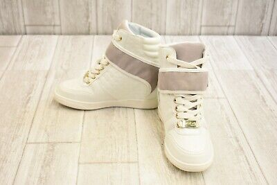 9496afc2ff06 bebe Colby Faux Leather Hidden Wedge Sneakers