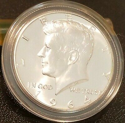 1964 Kennedy Half Dollar--Incredible Condition from an Original Roll! BRILLIANT!