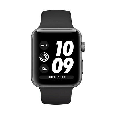 Apple Watch Series 3 Nike 42mm Space Gray GPS - Black Band