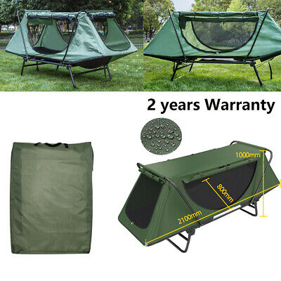 Bestdeal.shop Outdoor Camping Tent Waterproof Foldable Portable for 1-4 Persons Camouflage Hiking with Carrying Bag