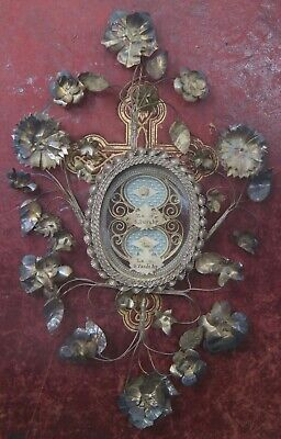 DOUBLE shrine relicario relic reliquary St. Peter and St. Paul the Apostles