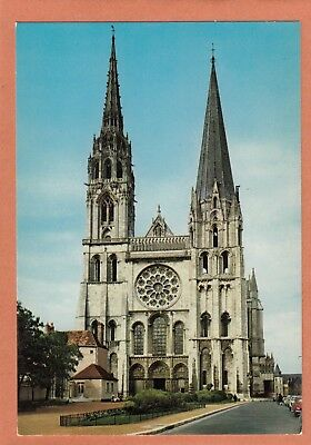 437 - Chartres - Cathedrale - Facade Ouest - Neuve