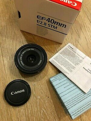 Canon EF 40mm f/2.8 STM Lens READ