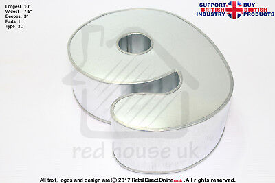 """Number Cake Baking Tin Rounded Corner   Small   3"""" Deep ( Number 9 )"""