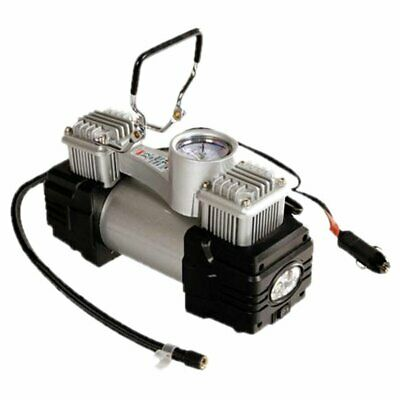 Compressore Lampa Twin-Air Kit Bicilindrico 12V 200W Per Pneumatici Auto New