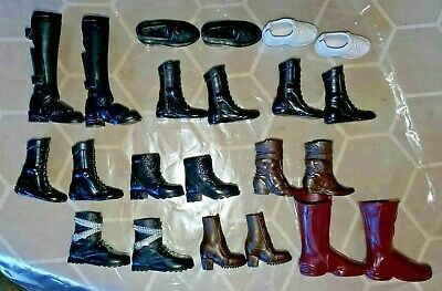 Barbie Doll Lot 11 Pairs variety SHOES BOOTS Barbie Ken
