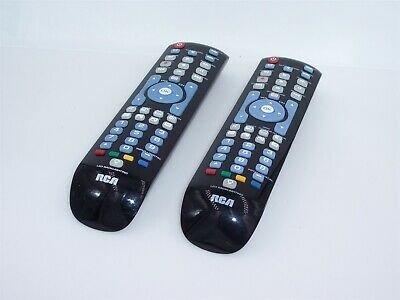 RCA RCRN04GR 4 Device Universal Remote Control With Backlit Keyboard lot  2/two