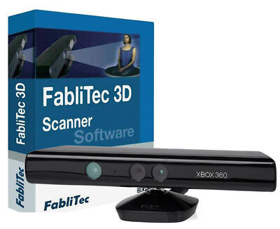 3D-Printer-3D Scaner Software for Kinect® Xbox FabliTec German RepRap english