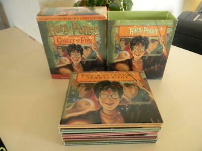 Harry Potter and the Goblet of Fire J.K Rowling CD Audio Book 17 Disc Set