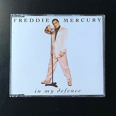 In My Defence Freddie Mercury [EP] CD 1992 Living On My Own, Mr Bad Guy, DEFENSE