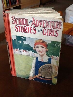 Vintage Book.1920s. School and Adventure Stories For Girls.