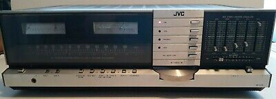 Vintage JVC JR-S301 DC Integrated Stereo Receiver/Amp with Graphic EQ - Rare!