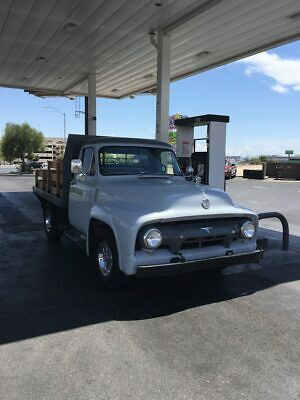 1954 Ford F-250 Standard 1954 Ford F250 Flatbed stake bed truck V8 Auto