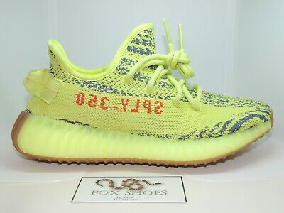 fb1842fa7 ADIDAS YEEZY BOOST 350 V2 Semi Frozen Yellow - Size 10.5 US - NEW ...