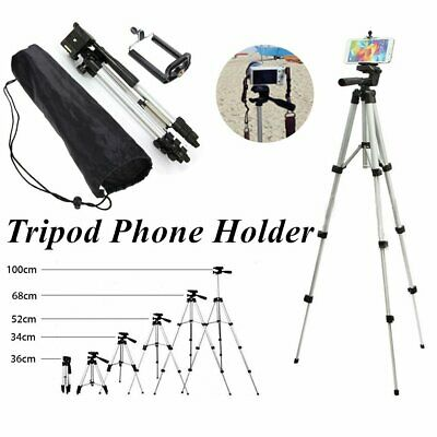 Telescopic Camera Tripod Stand Holder Mount +Carry Bag For Phone iPhone/Nikon or