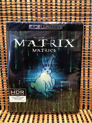 The Matrix 4K (3-Disc Blu-ray, 2018)Wachowski/Keanu Reeves/Neo/Laurence Fishburn