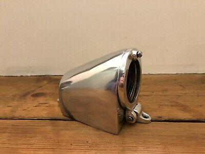 Davey & Co Industrial Bulkhead Wall Light Vintage Antique Ship Lamp Aluminium