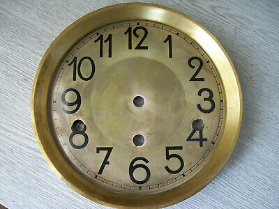 Antique / Vintage Tin Wall Clock Dial spare parts.