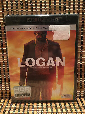 Logan 4k (2-Disc Blu-ray, 2017)Wolverine/X-Men/Marvel.Professor X.Oscar Nominee