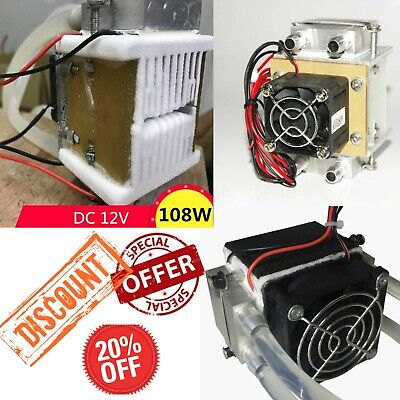 DC12V 108W Semiconductor electronic Peltier refrigeration cold Space Small air