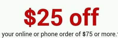 STAPLES $25 OFF $75 Online Or Phone Order EXP:3/24/19 super fast delivery