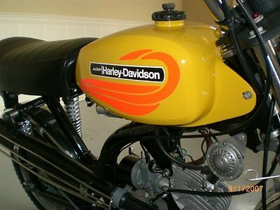 1972 Shortster Aermacchi X90 AMF Tank decal set 65cc for AMF Harley