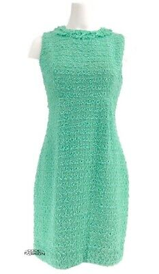 6fedd75d Kate Spade New York Terri Tweed Sheath Dress Size 10 Mint Green Cocktail  Classic