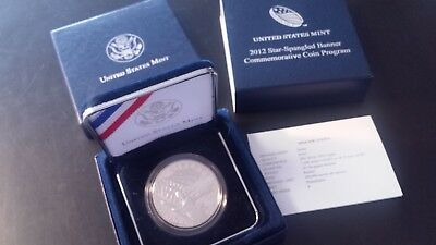 2012-P $1 Star-Spangled Banner Commemorative Silver Dollar in OGP Proof