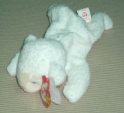 d90530a8945 TY FLEECE THE SHEEP Beanie Baby MARCH 21