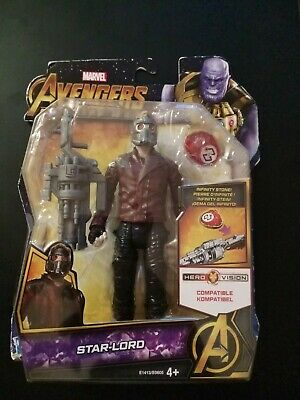 Marvel Avengers Infinity War 6 Inch Star-Lord Figure With Infinity Stone