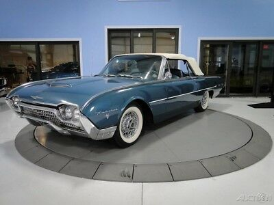 1962 Ford Thunderbird  Artesian Turquoise Sports Roadster Convertible