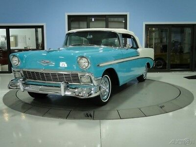 1956 Chevrolet Bel Air/150/210 Convertible Turquoise and White Convertible