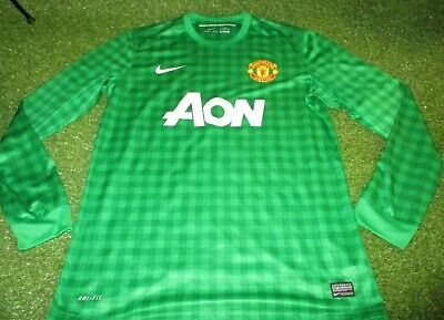 3a17f8f706d manchester united fc football extra large mans nike player issued keepers  jersey
