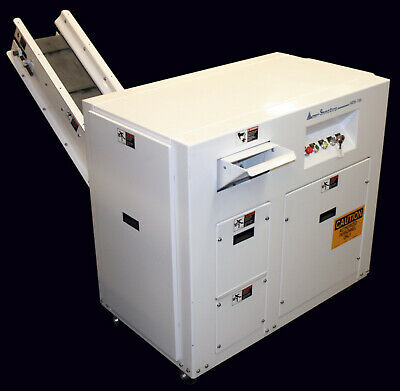 Ameri-shred Corp Ams-750 7.5 Horsepower Industrial Paper Shredder Remanufactured Heavy Equipment, Parts & Attachments