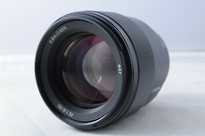 SONY FE 85mm F1.8 E-mount LENS SEL85F18 Japan Domestic Version New