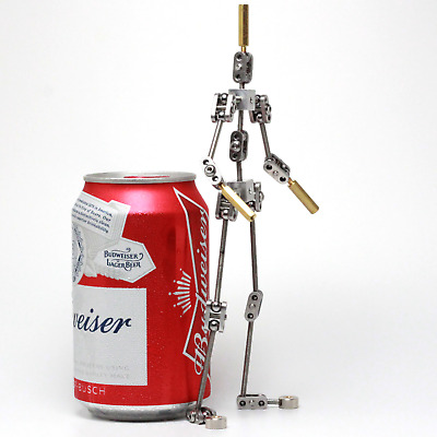 Diy Studio Stop Motion Armature Kits Metal Puppet Figure For Characte 6.3 Inches