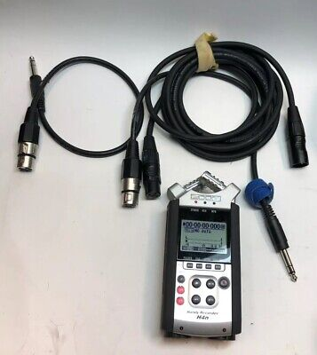 Zoom H4N 4-Channel Handy Recorder +Extras