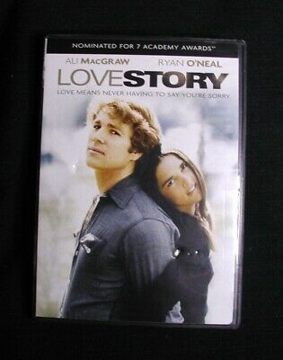 DVD Video:  LOVE STORY Starring Ali MacGraw and Ryan O'Neal EUC
