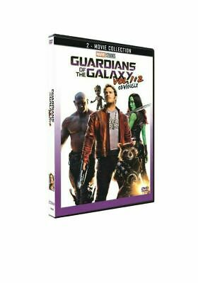 Guardians of the Galaxy Vol 1-2 DVD Box Set Complete 1 & 2 Movie Collection New